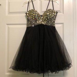 Beaded prom / homecoming dress